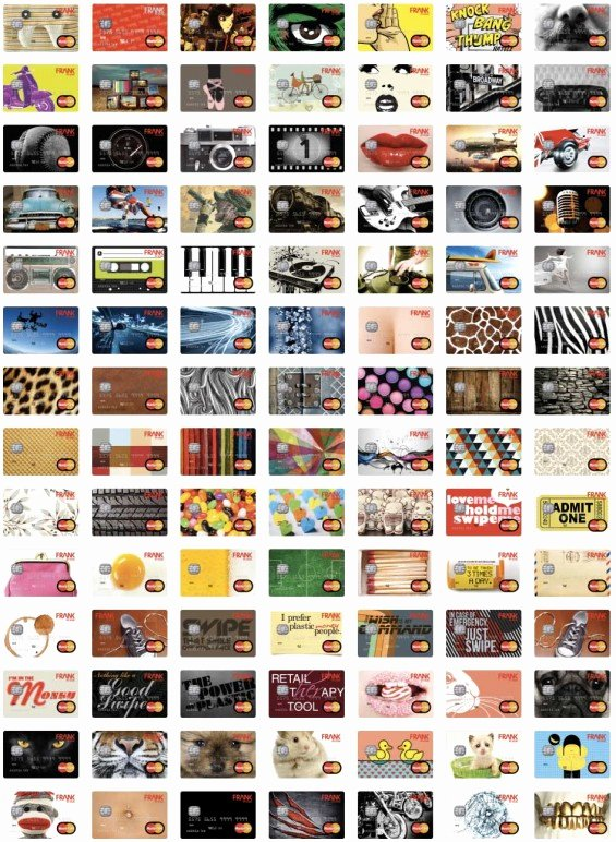 Cool Debit Card Designs Lovely Meet Frank Maybe the Coolest Bank Gen Y Has Ever Seen