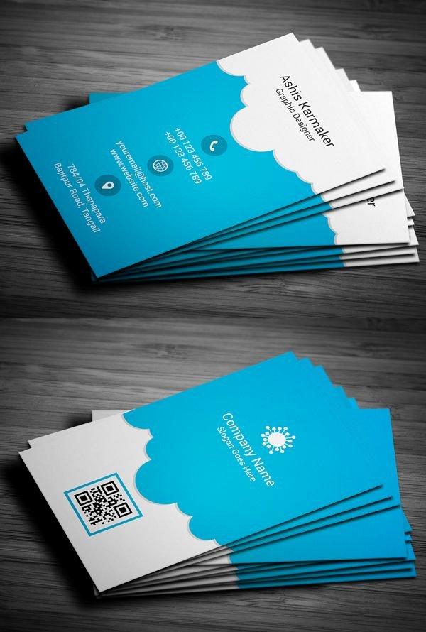 Cool Debit Card Designs Luxury Cloudy Business Card Design