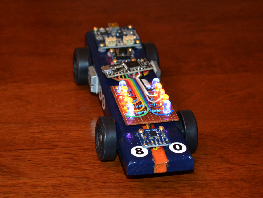 Cool Pinewood Derby Cars Luxury Build An Arduino Powered Pinewood Derby Race Car