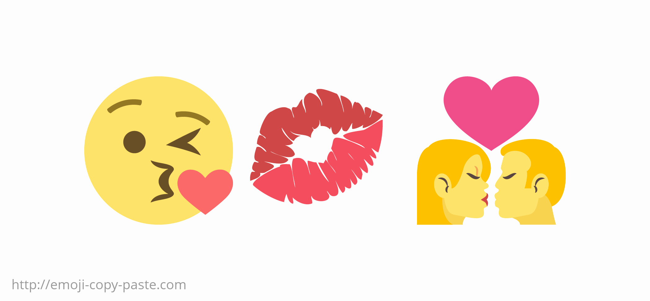 Copy and Paste Emoji Pictures Lovely Copy Paste Kiss Emojis