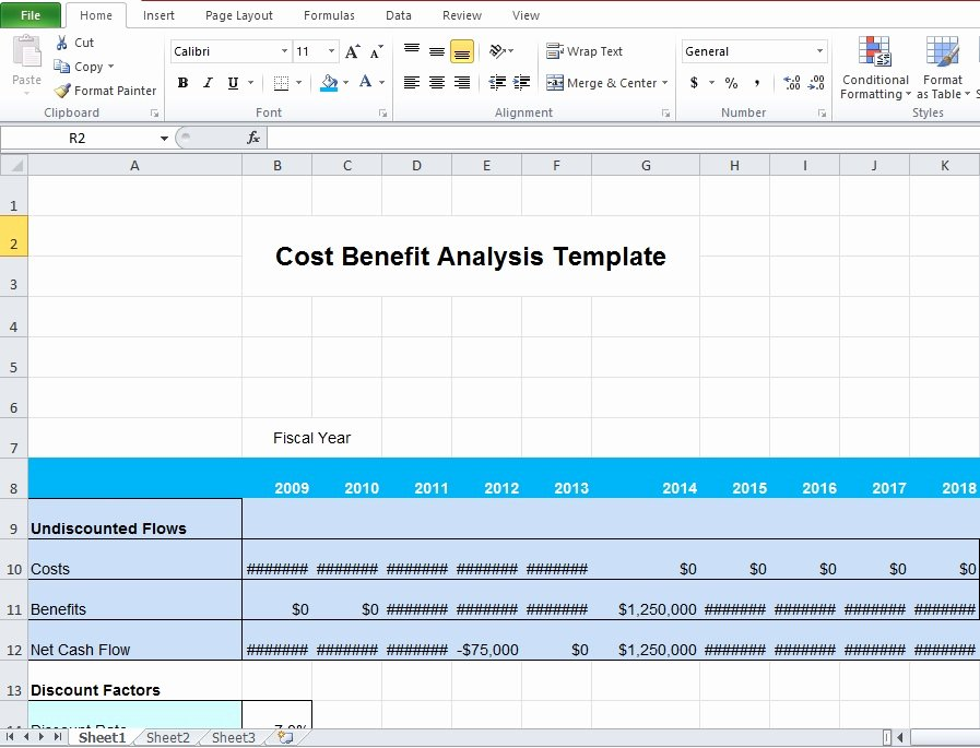 Cost Benefit Analysis Template Excel Best Of Download Business Cost Benefit Analysis Template for