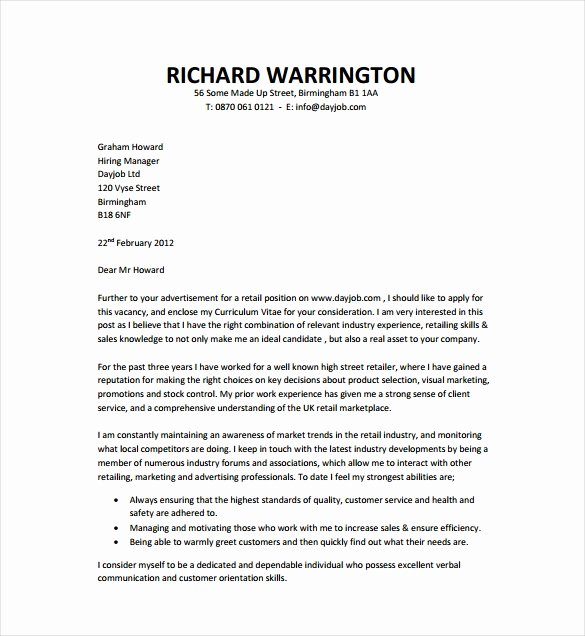 Cover Letter for Employment Elegant 51 Simple Cover Letter Templates Pdf Doc