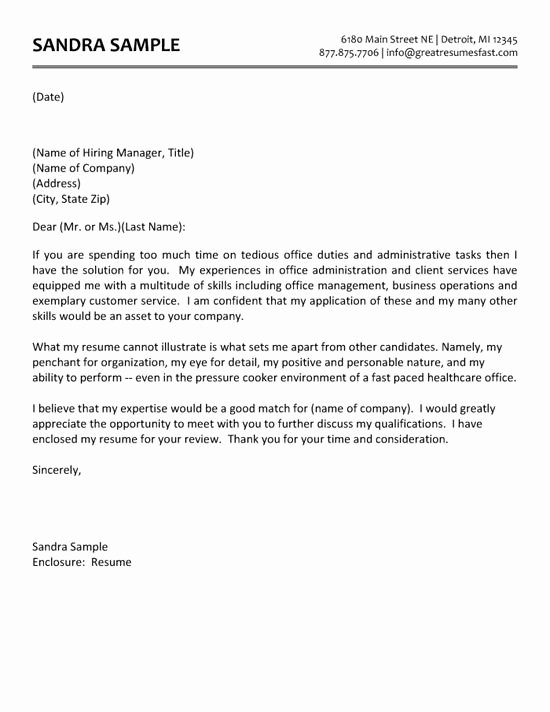 Cover Letter for Executive assistant Luxury Administrative assistant Cover Letter