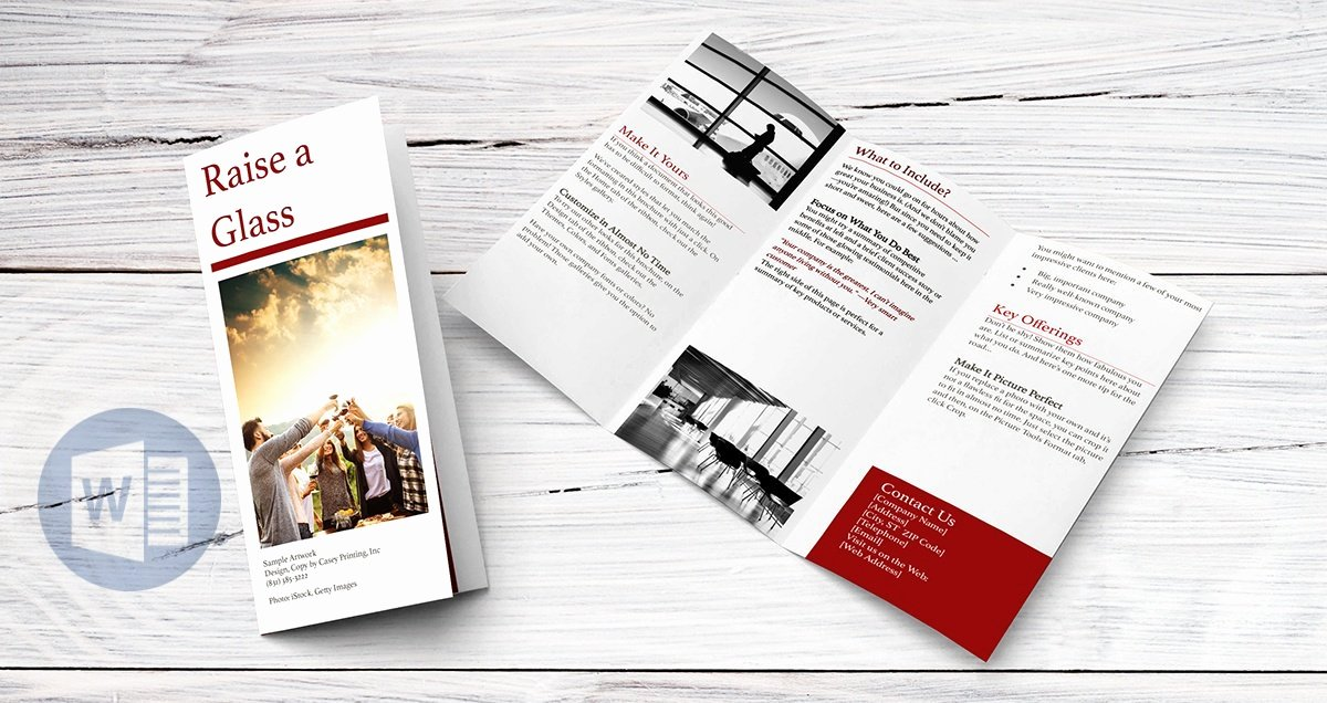 Create A Flyer In Word Beautiful How to Create A Trifold Brochure In Word Line