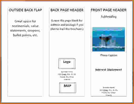 Create A Flyer In Word New 5 How to Create A Pamphlet In Word