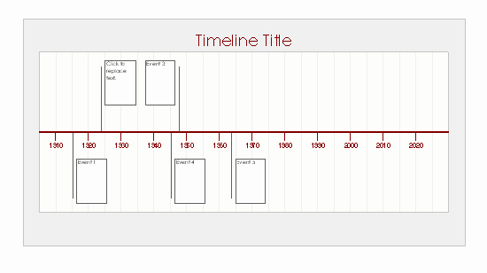 Create A Timeline In Word Beautiful Timeline