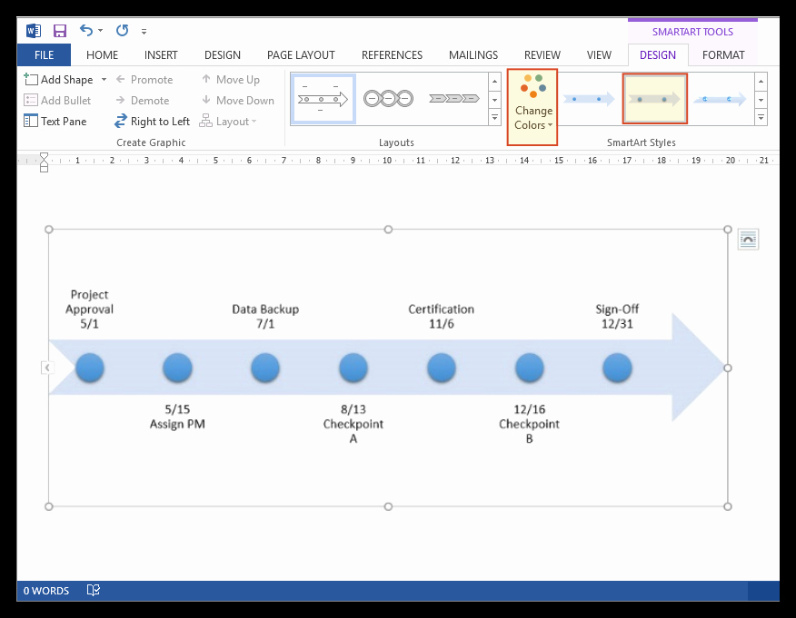 Create A Timeline In Word Fresh How to Make A Timeline In Microsoft Word Free Template