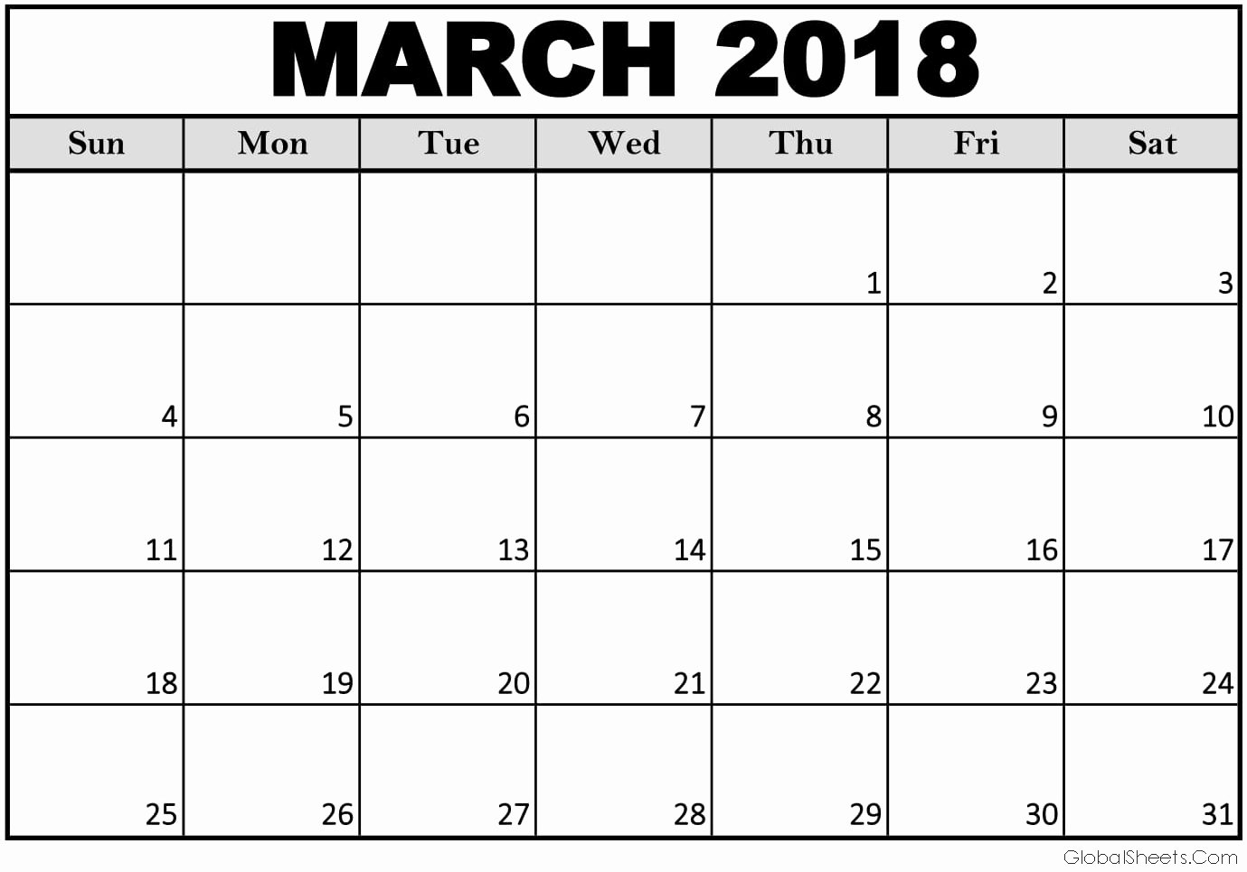 Create Calendar In Word Fresh March 2018 Calendar Word Document