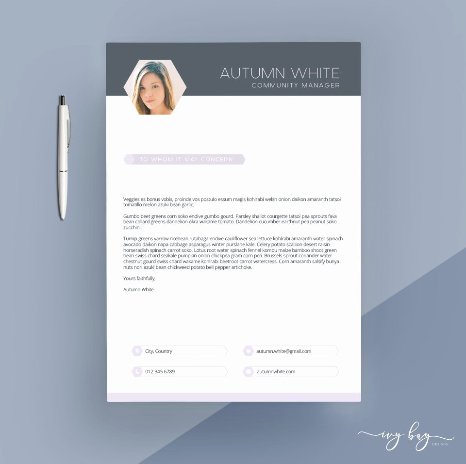 Creative Cover Letter Template Luxury Creative Cover Letter Template Cover Letter Letterhead Word