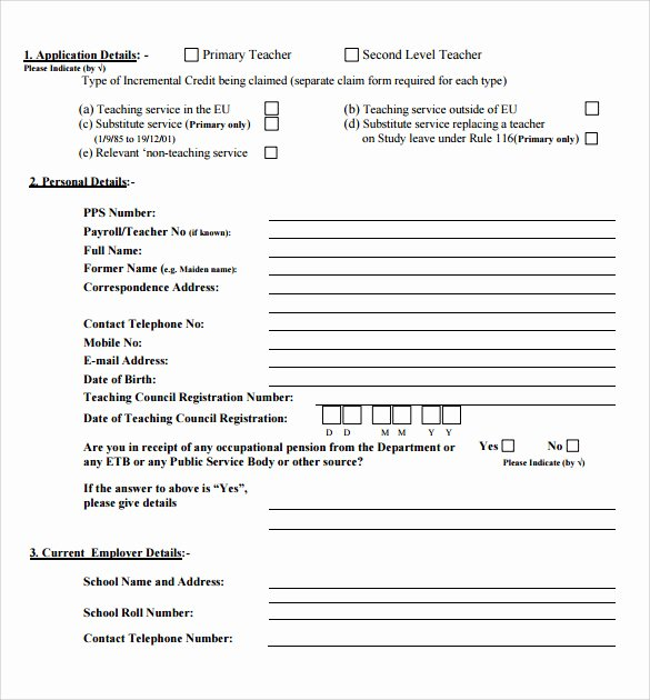 Credit Application form Pdf Lovely Credit Application Pdf