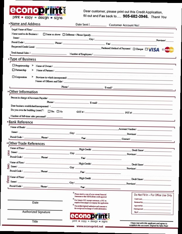 business credit application form pdf 2127