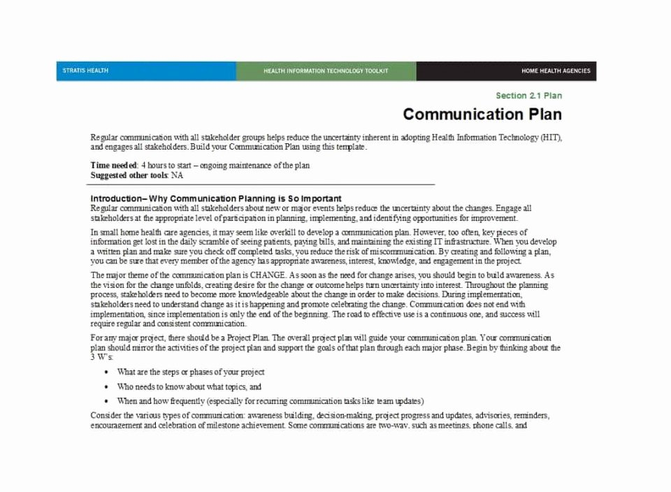 Crisis Communication Plan Template Best Of 007 Crisis Munication Plan Template Ic Smart Goals
