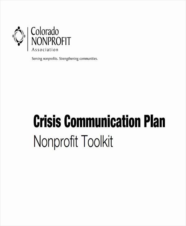 Crisis Communication Plan Template Inspirational 11 Crisis Plan Templates Sample Word Google Docs