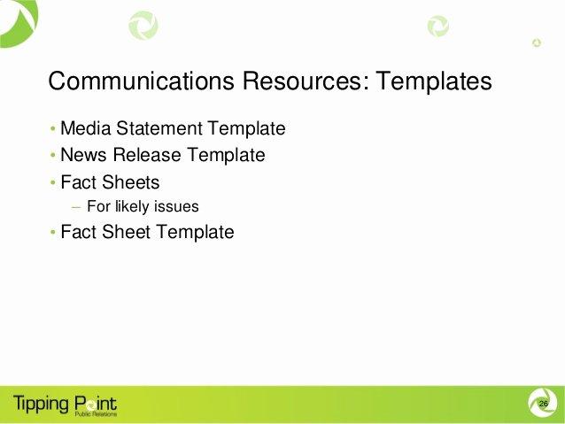 Crisis Communication Plan Template Inspirational Crisis Munications Planning