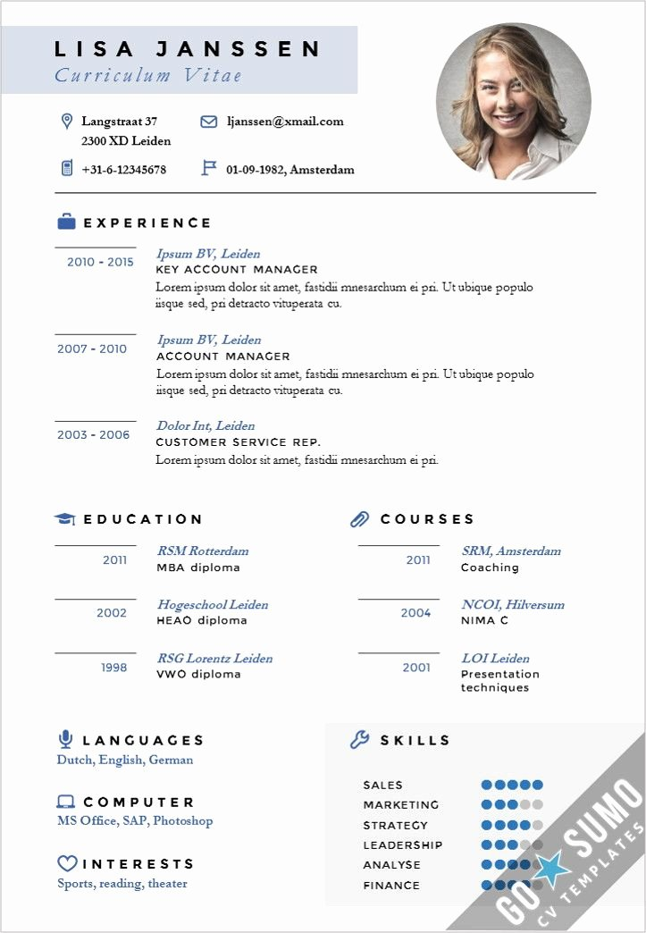 Curriculum Vitae Template Word Beautiful Stand Out Cv Design Cv Template In Word and Powerpoint