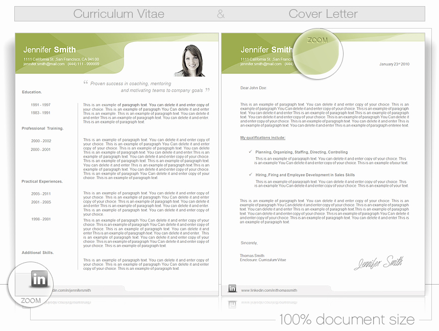 Curriculum Vitae Template Word Elegant Cv Word Template Cv Templates Give You Full Control