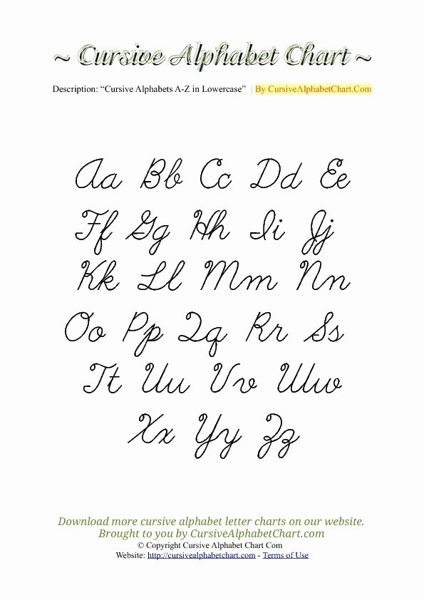 Cursive Handwriting Practice Pdf Luxury Capital Letters Tag