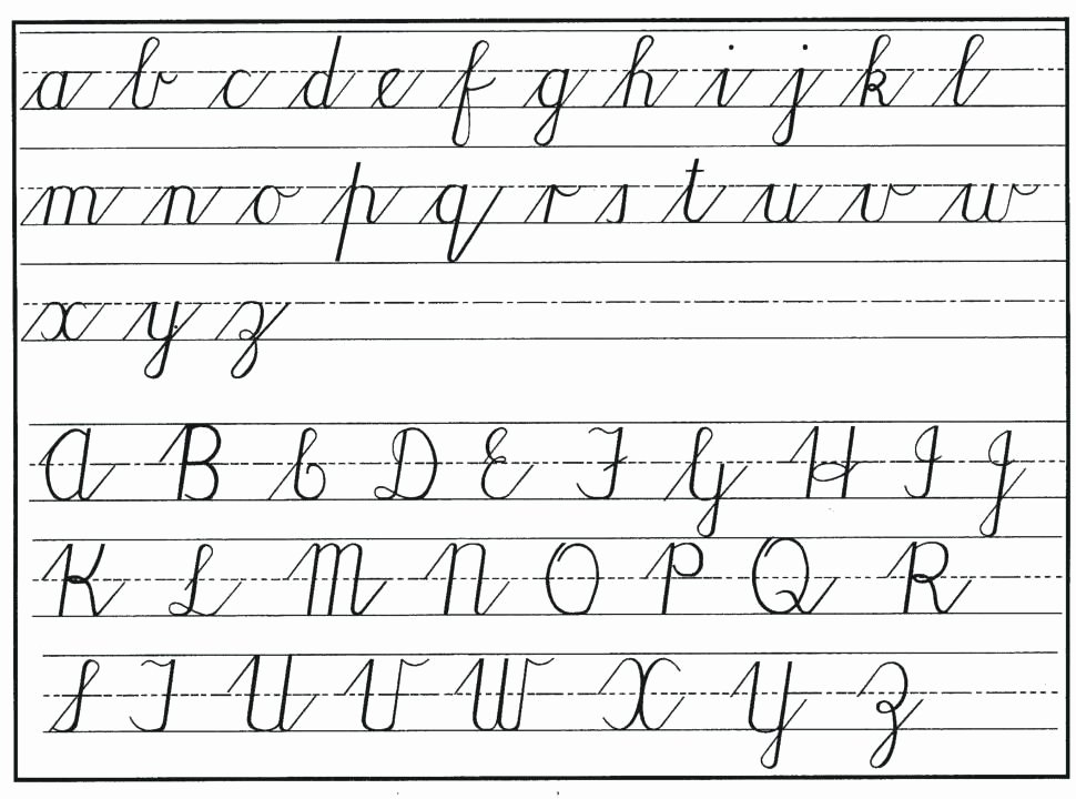 Cursive Handwriting Practice Pdf Unique Cursive Practice Sheets Worksheet Handwriting Paper