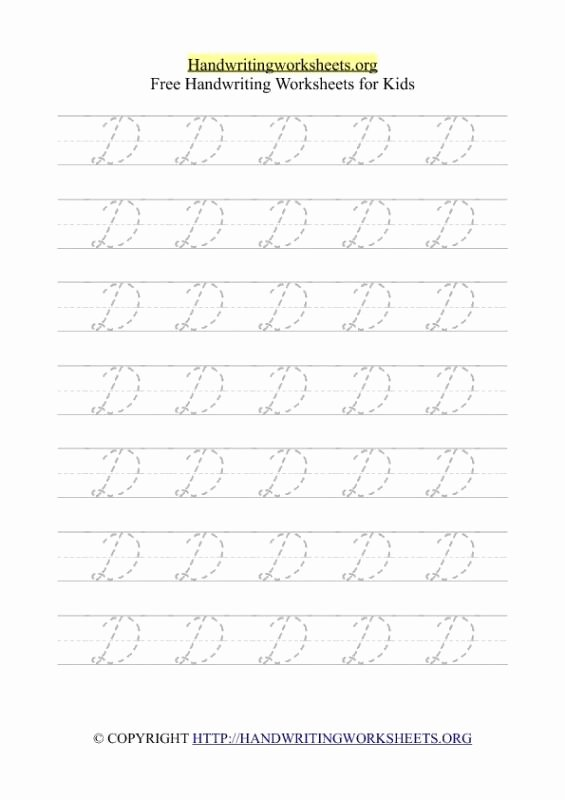 Cursive Handwriting Practice Pdf Unique Cursive Writing Worksheets Pdf