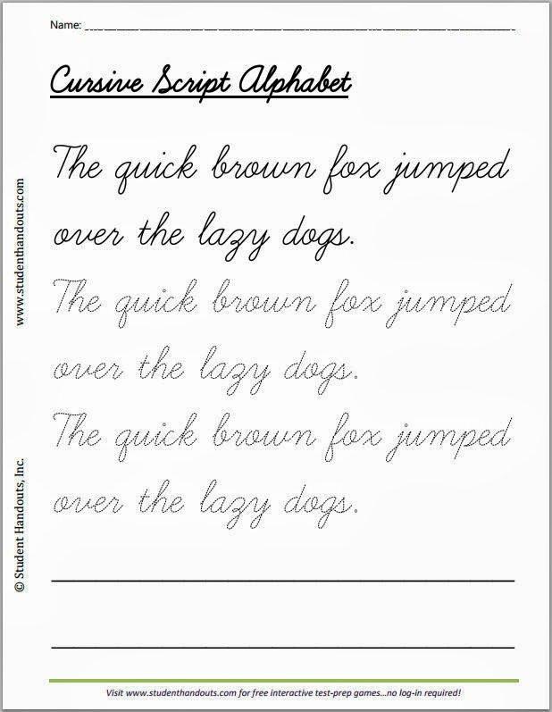 Cursive Writing Practice Pdf Luxury Handwriting Pdf