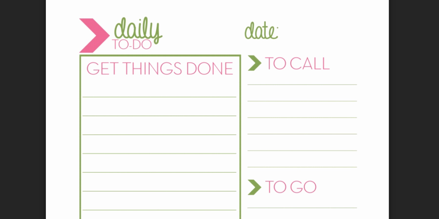 Daily to Do List Template Inspirational Every to Do List Template You'll Ever Need Business 2