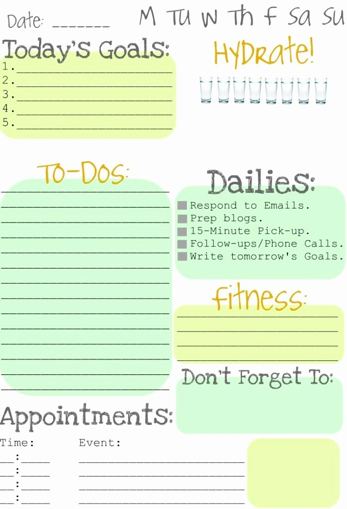 Daily to Do List Templates Unique Itmom Spotted Free Printable Daily to Do List