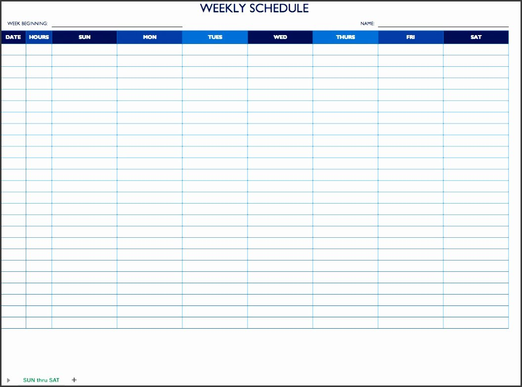 Daily Work Schedule Template Beautiful 9 Daily Work Schedule Template In Ms Word