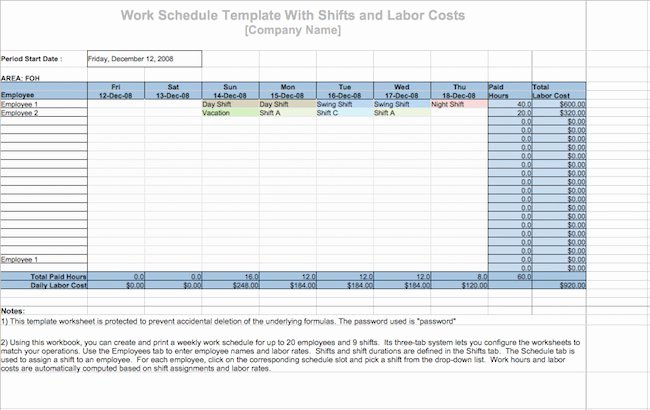 Daily Work Schedule Template Elegant 19 Perfect Daily Work Schedule Templates Free Template