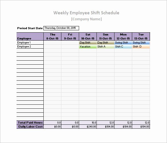 Daily Work Schedule Template Inspirational 19 Daily Work Schedule Templates & Samples Docs Pdf