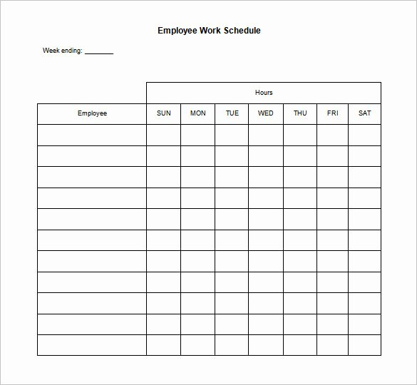 Daily Work Schedule Template Luxury 19 Daily Work Schedule Templates & Samples Docs Pdf