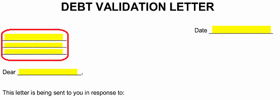 Debt Validation Letter Template Unique Free Debt Validation Letter Template Fair Debt Collection