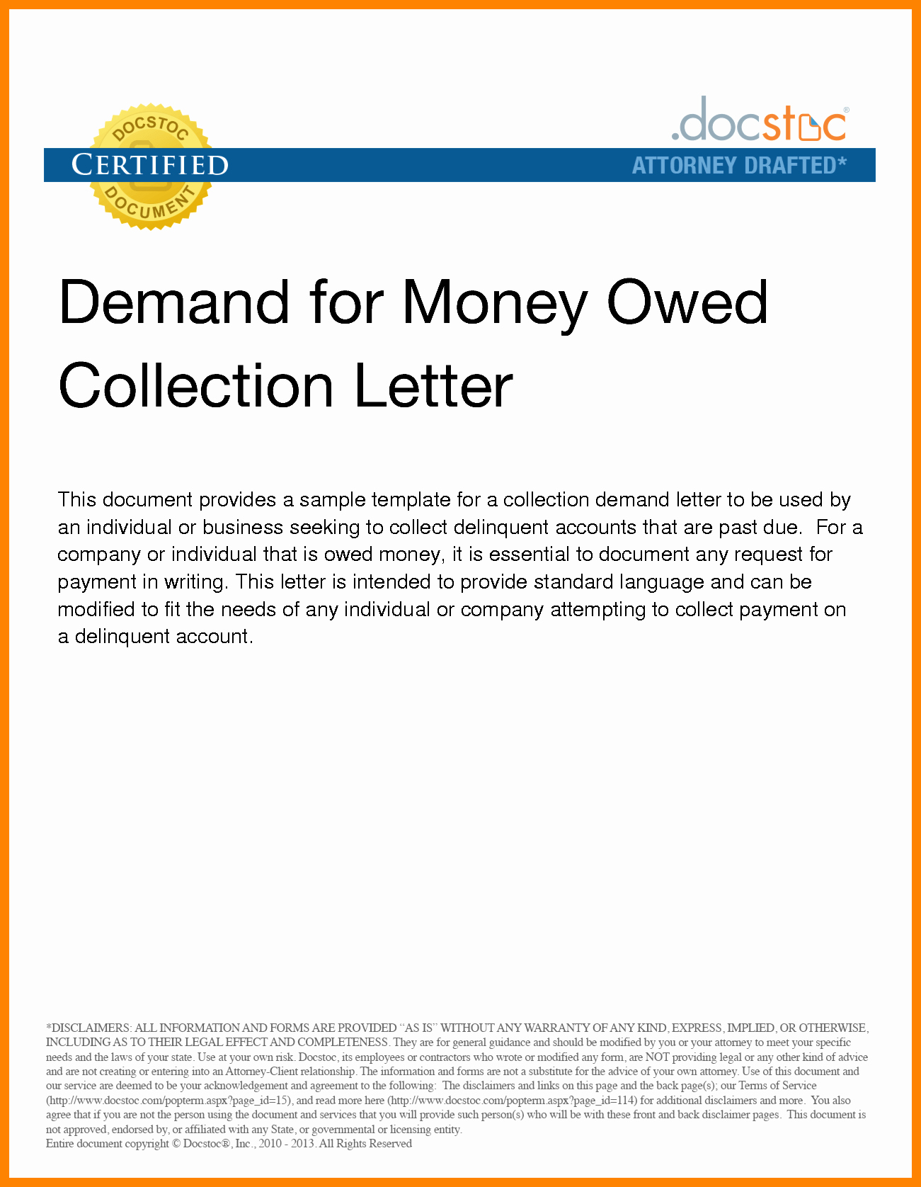 Demand Letter for Money Owed Best Of Sample Demand Letter for Money Owed