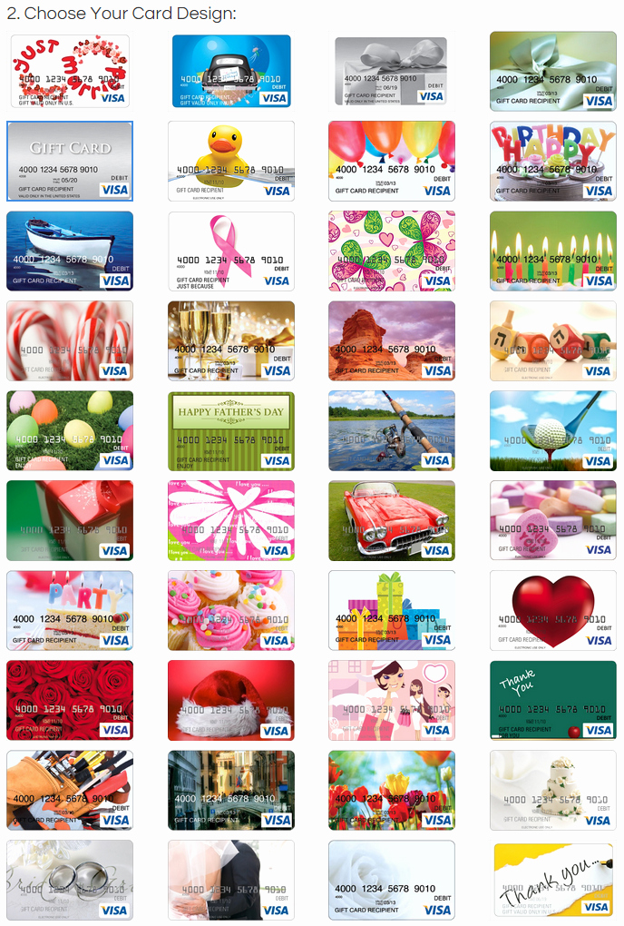 Discover Credit Card Designs Awesome All Visa Gift Card Designs