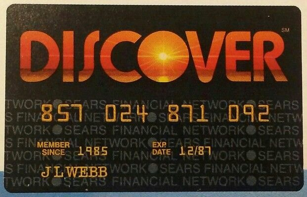 Discover Credit Card Designs Fresh Discover Card 80s Dark Past