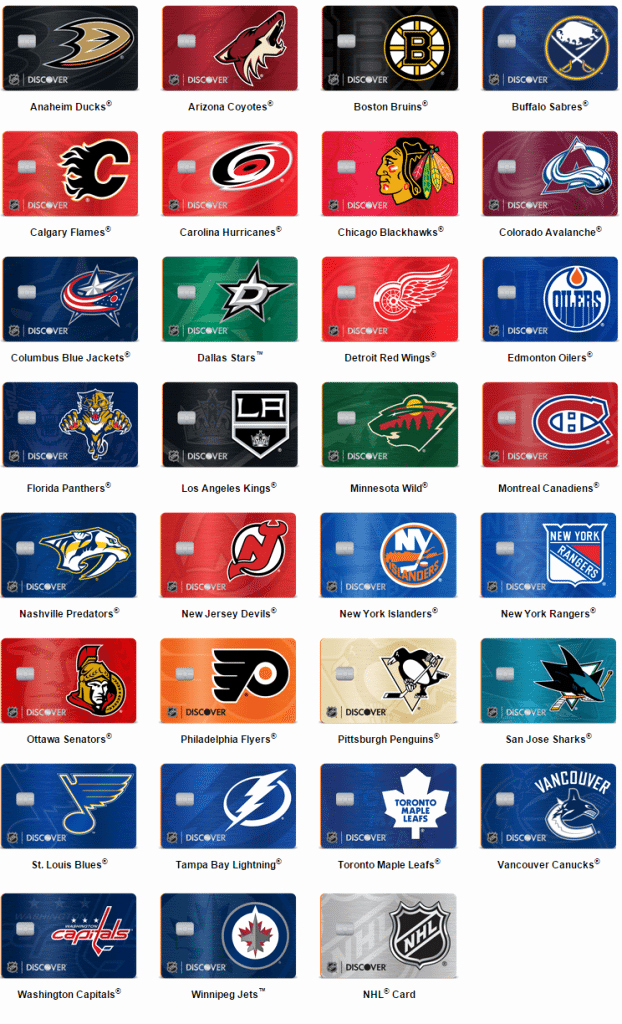 new discover it nhl credit cards our review