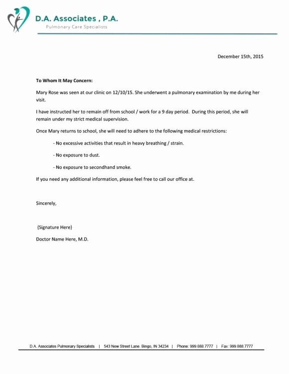 Doctors Note for Work Absence Best Of 40 Fake Doctors Note Template Download [pdf Doc]