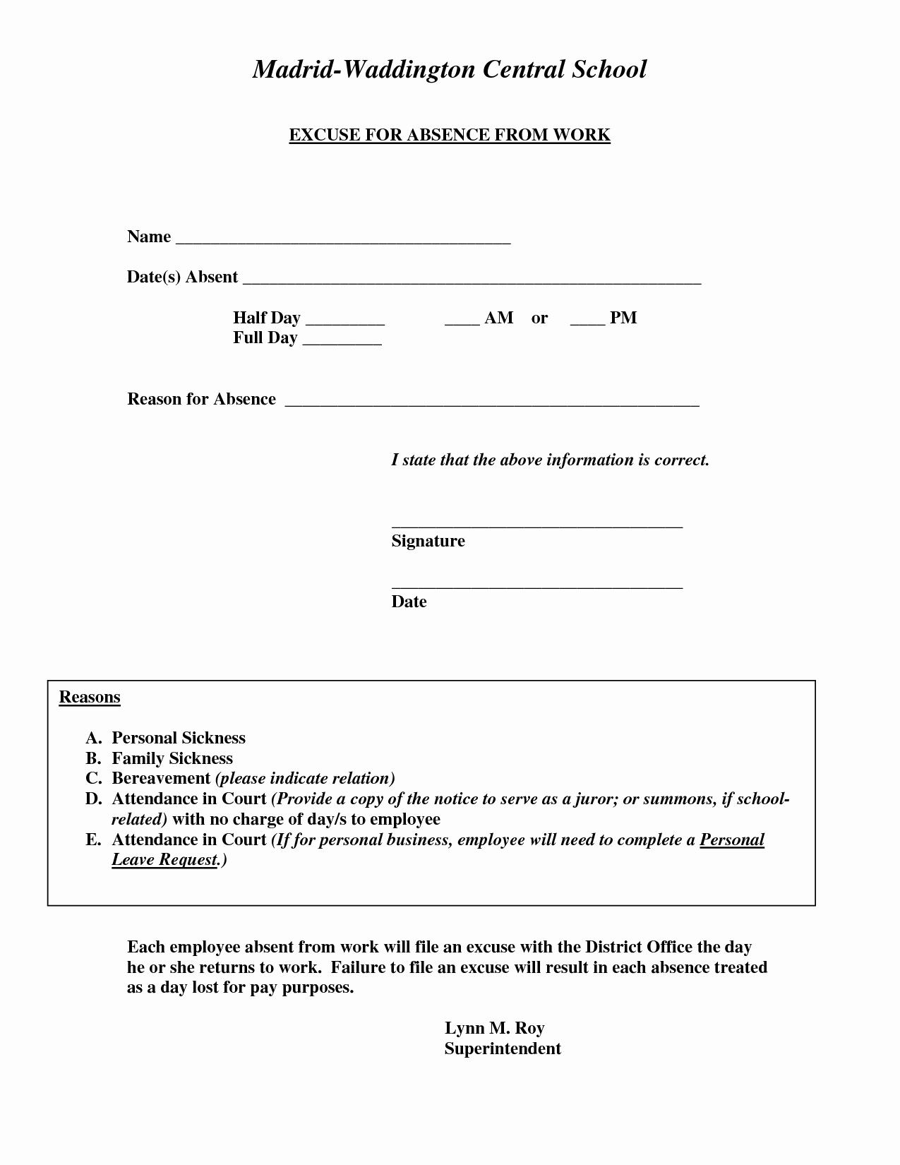 Doctors Note for Work Pdf Best Of Doctors Excuse for Work Template