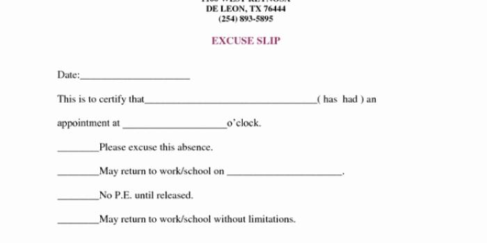 Doctors Note for Work Pdf Elegant Doctors Note for Work Absence Free Download Printable