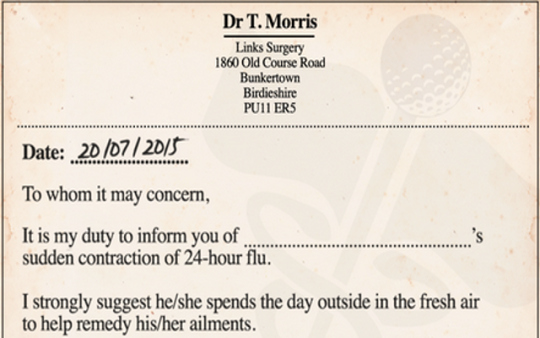 Doctors Notes for Missing Work Elegant Look A Doctor S Note so You Can Skip Work for the British