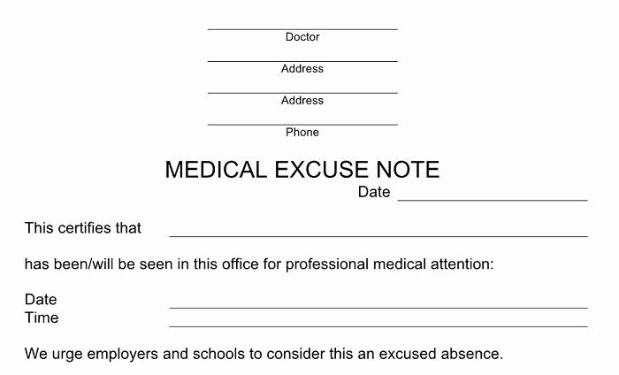 Doctors Notes for Missing Work Lovely Pin On Sick Off Drafts