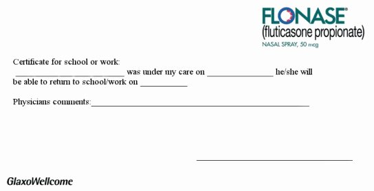 Doctors Notes for Missing Work Luxury Printable Doctors Excuses
