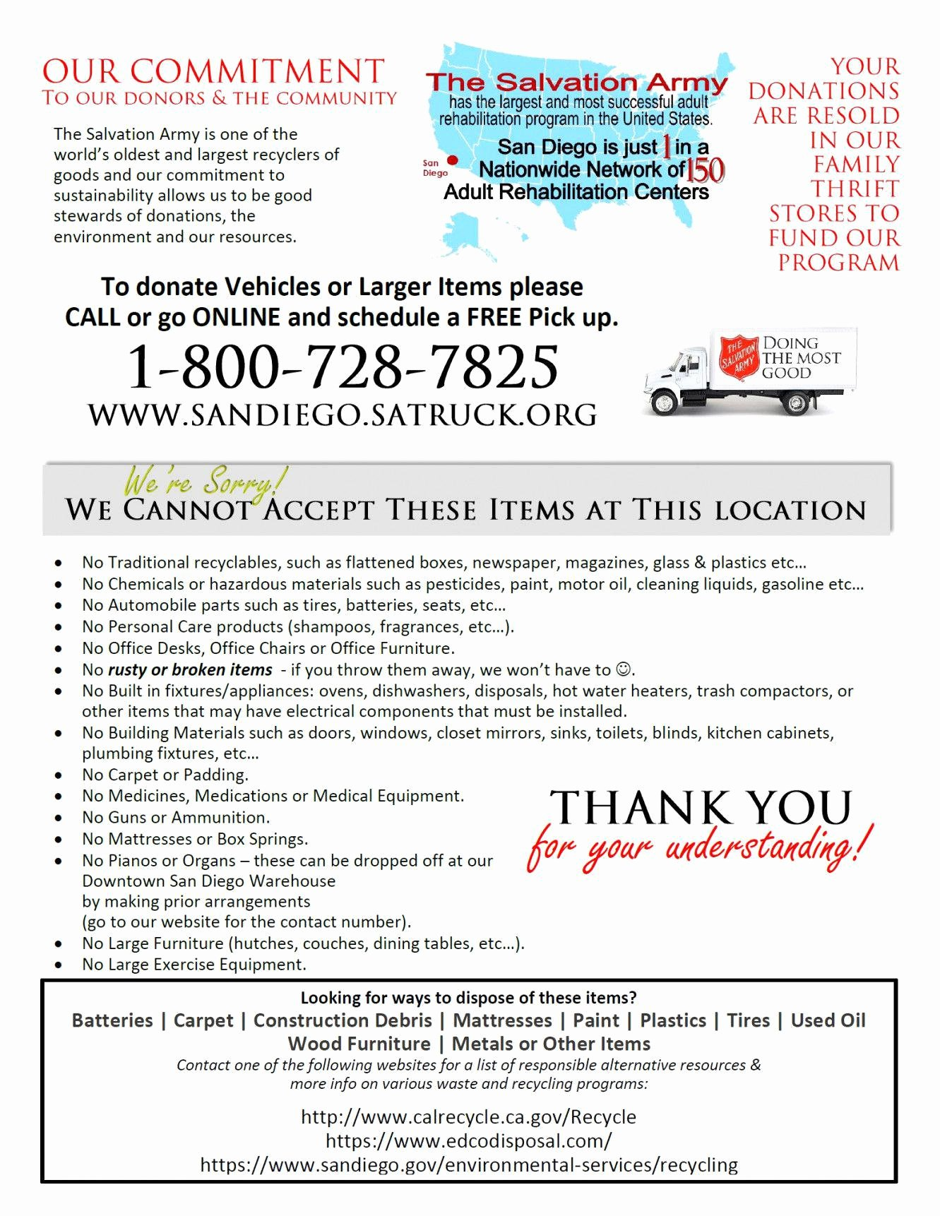 Donation Value Guide 2019 Spreadsheet Best Of Salvation Army Donation Guide Spreadsheet Intended for