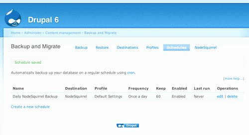 Drupal Backup and Migrate Awesome 30 Drupal Backup and Migrate