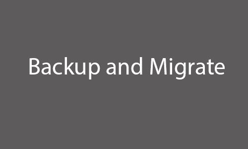 Drupal Backup and Migrate Inspirational 15 Best Drupal Backup & Migrate Modules Download