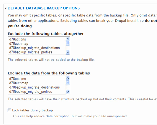Drupal Backup and Migrate Inspirational Drupal S Backup and Migrate Module