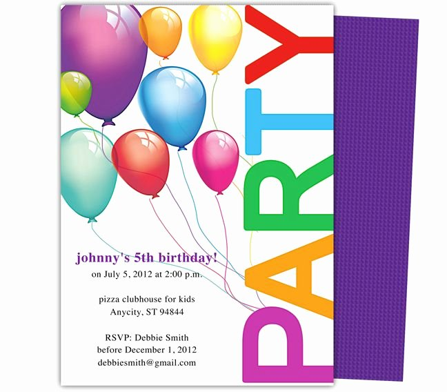 Editable Birthday Invitations Templates Free Beautiful 23 Best Images About Kids Birthday Party Invitation