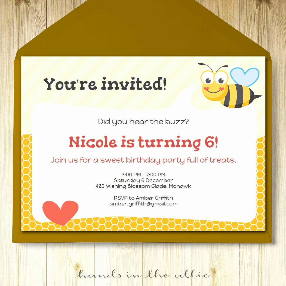 Editable Birthday Invitations Templates Free Best Of Bumble Bee Party Invitation Template Editable Invite