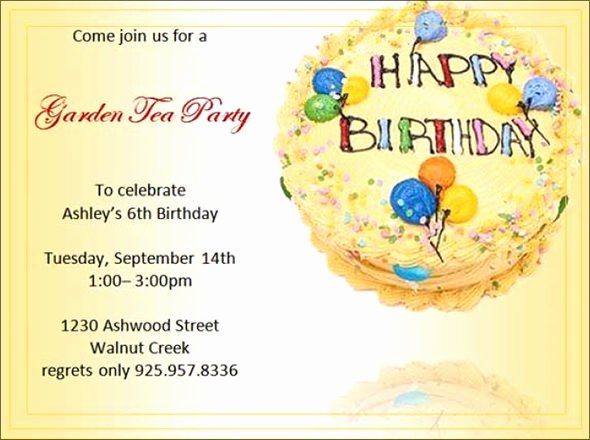 Editable Birthday Invitations Templates Free Fresh Free 63 Printable Birthday Invitation Templates In Pdf