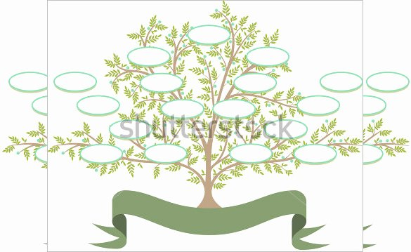 Editable Family Tree Template Elegant Free Editable Family Tree Template
