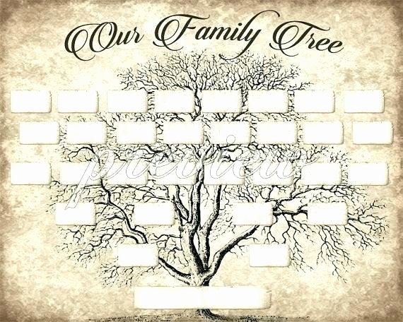Editable Family Tree Template Fresh Bostick Archives Family Found Genealogy